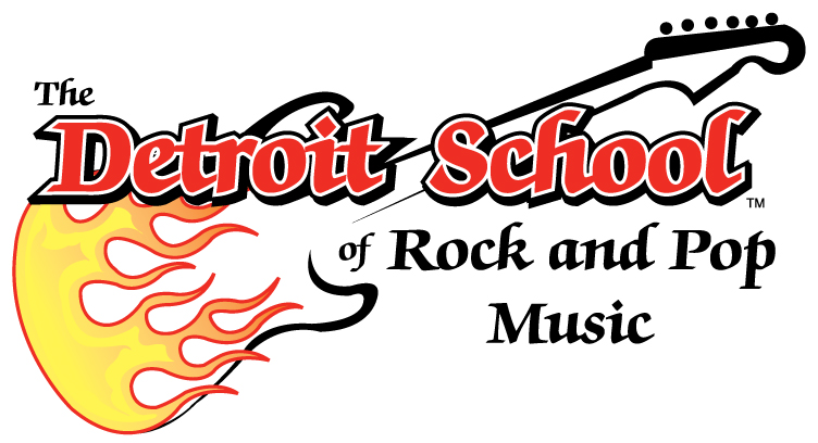 THE DETROIT SCHOOL OF ROCK AND POP MUSIC™ Logo